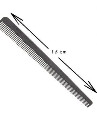 Peine especial peluquero carbono