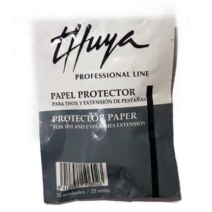 Protector papel extensión pestañas adhesivas Thuya