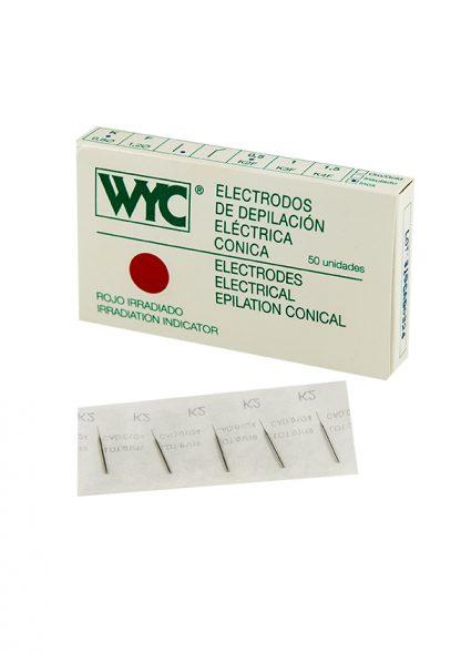 Agujas de depilacion electrica WYC