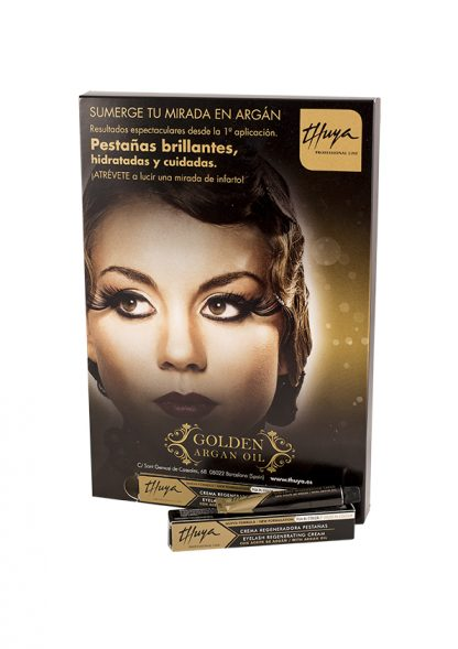 Crema regeneradora de pestañas Thuya Golden