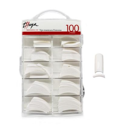 Tips blancos 100 unidades Thuya