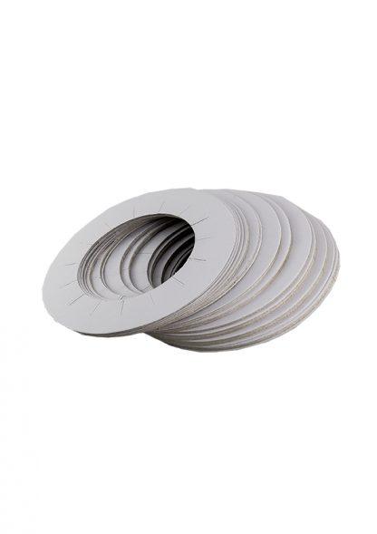 100 círculos protectores para fusor de cera
