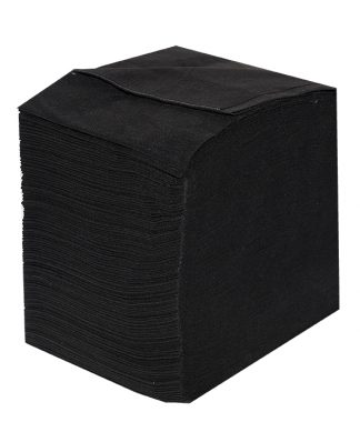 Toallas Spunlace Negra 40x80 (100 unidades)