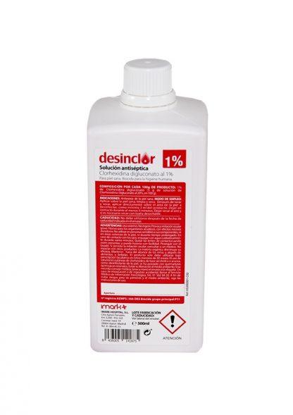 Desinclor solución antiséptica clorhexidina 1%