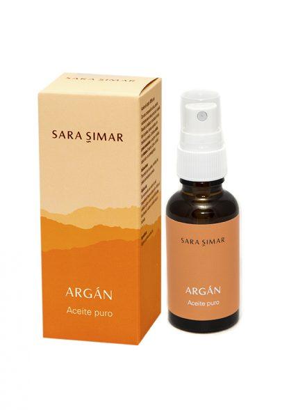 Aceite de argán puro Sara Simar