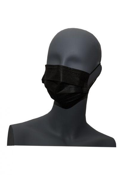 10 mascarillas higiénicas negras 3 capas