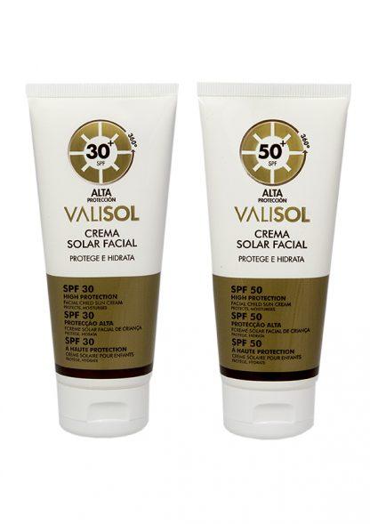 Valisol crema solar facial 360º